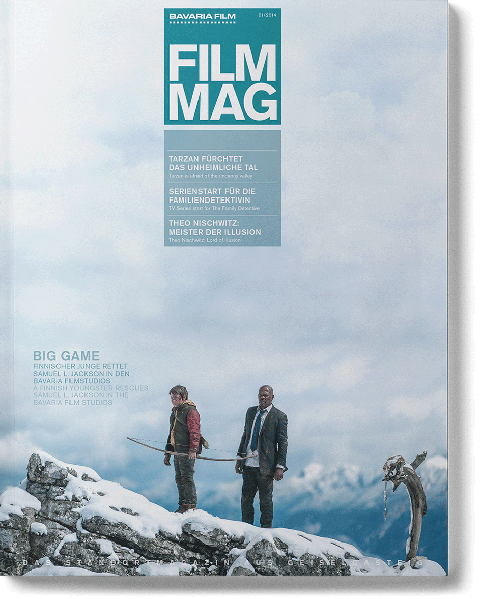 cover big game des standortmagazins der bavaria film